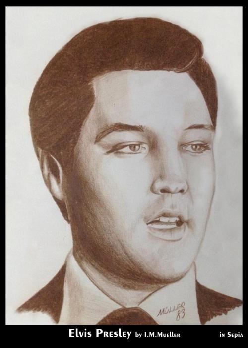 Elvis Presley by immueller